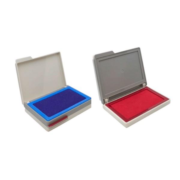 高級雙色打印台-藍.紅