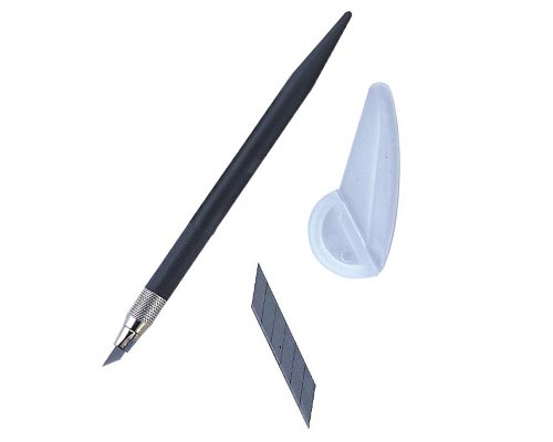 筆刀-KINGLIFE (附刀片、折片器)